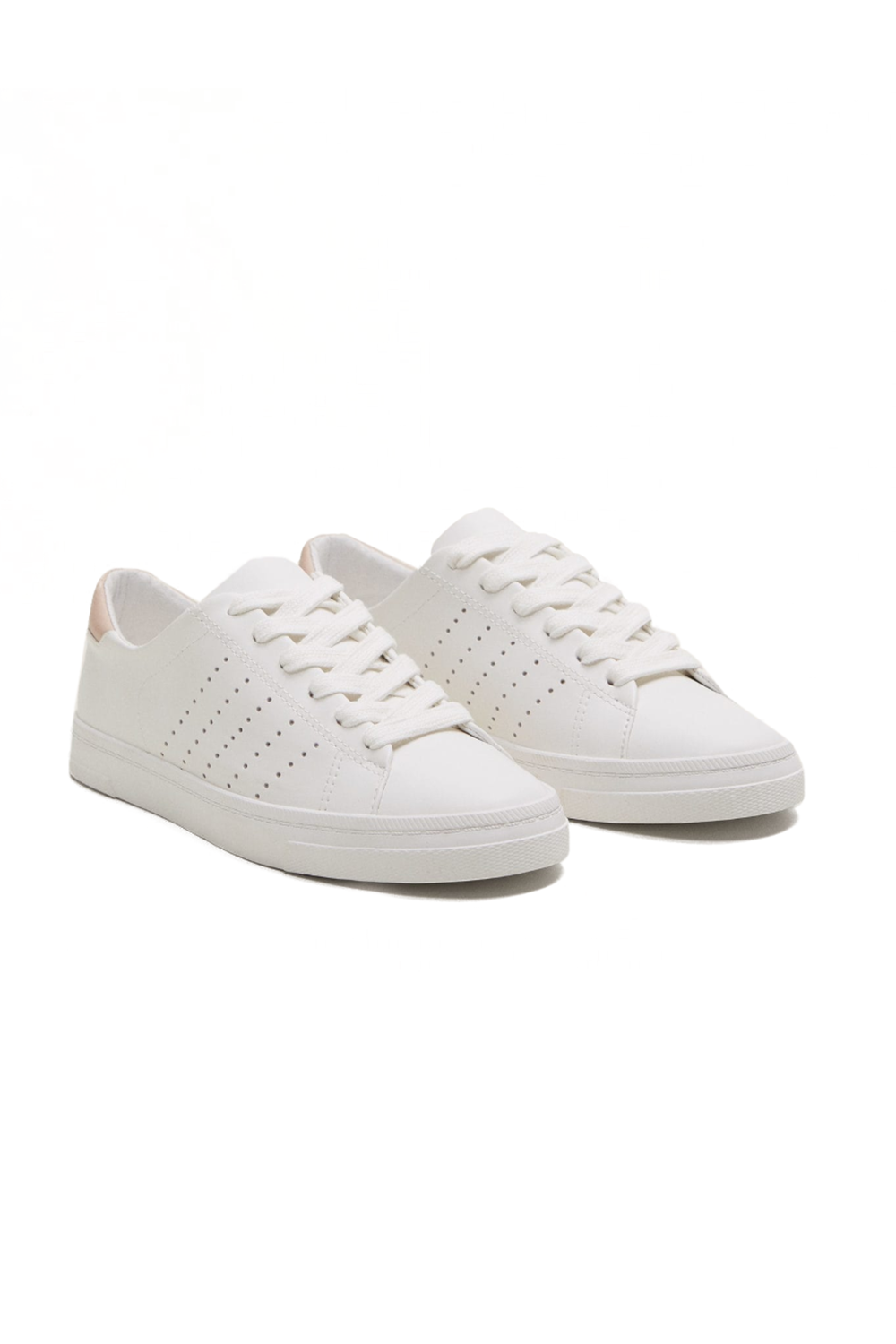 Cute, and Environmentally Friendly Mango, $50 SHOP IT These vegan leather sneakers are perfect for Saturday errand runs.