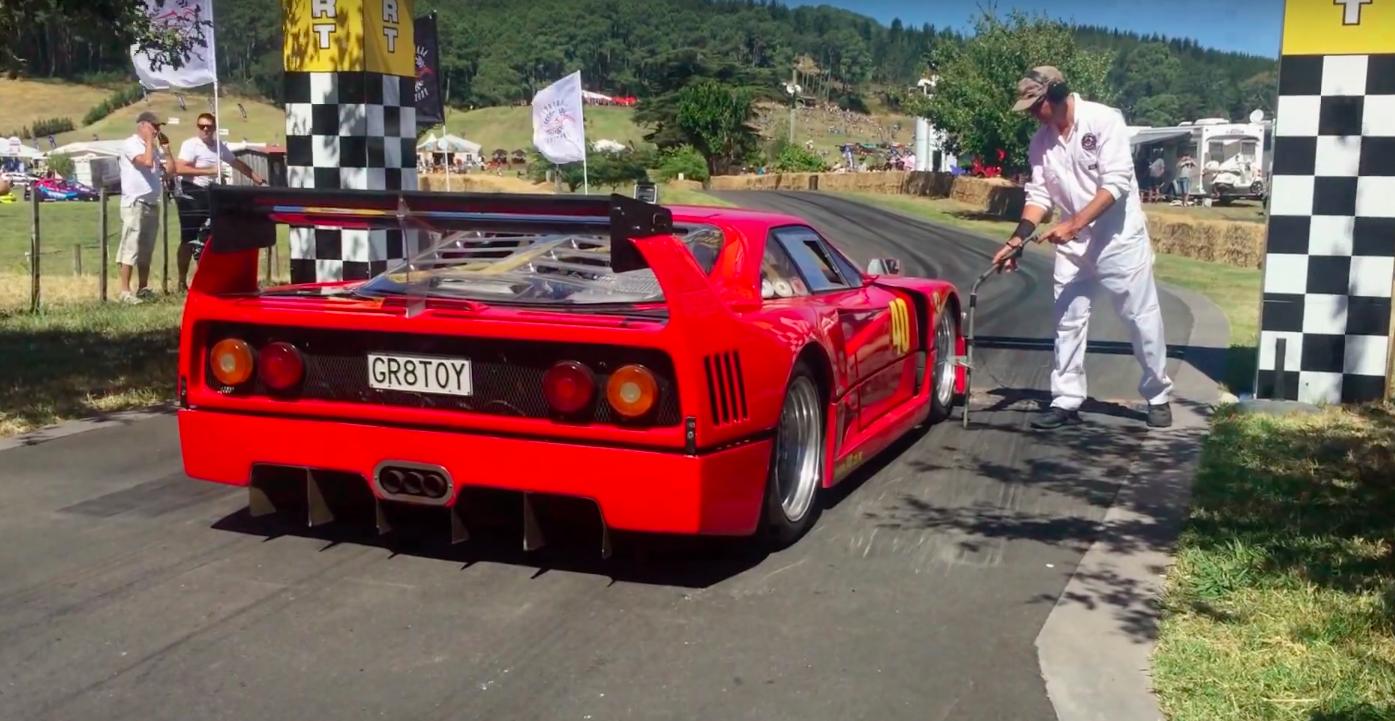 This Ferrari F40 Replica Sounds Nearly As Good As The Original