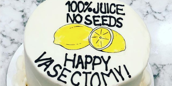 Vasectomy Cakes Are The Latest Parenting Trend
