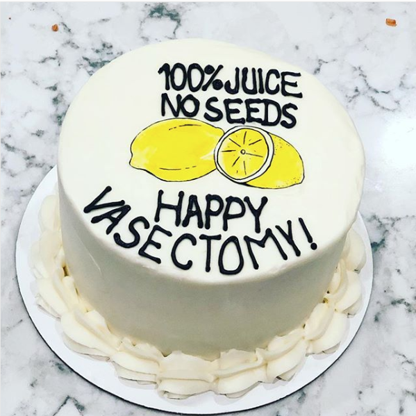 This Nashville Bakery Created A Vasectomy Cake And Parents Are Obsessed