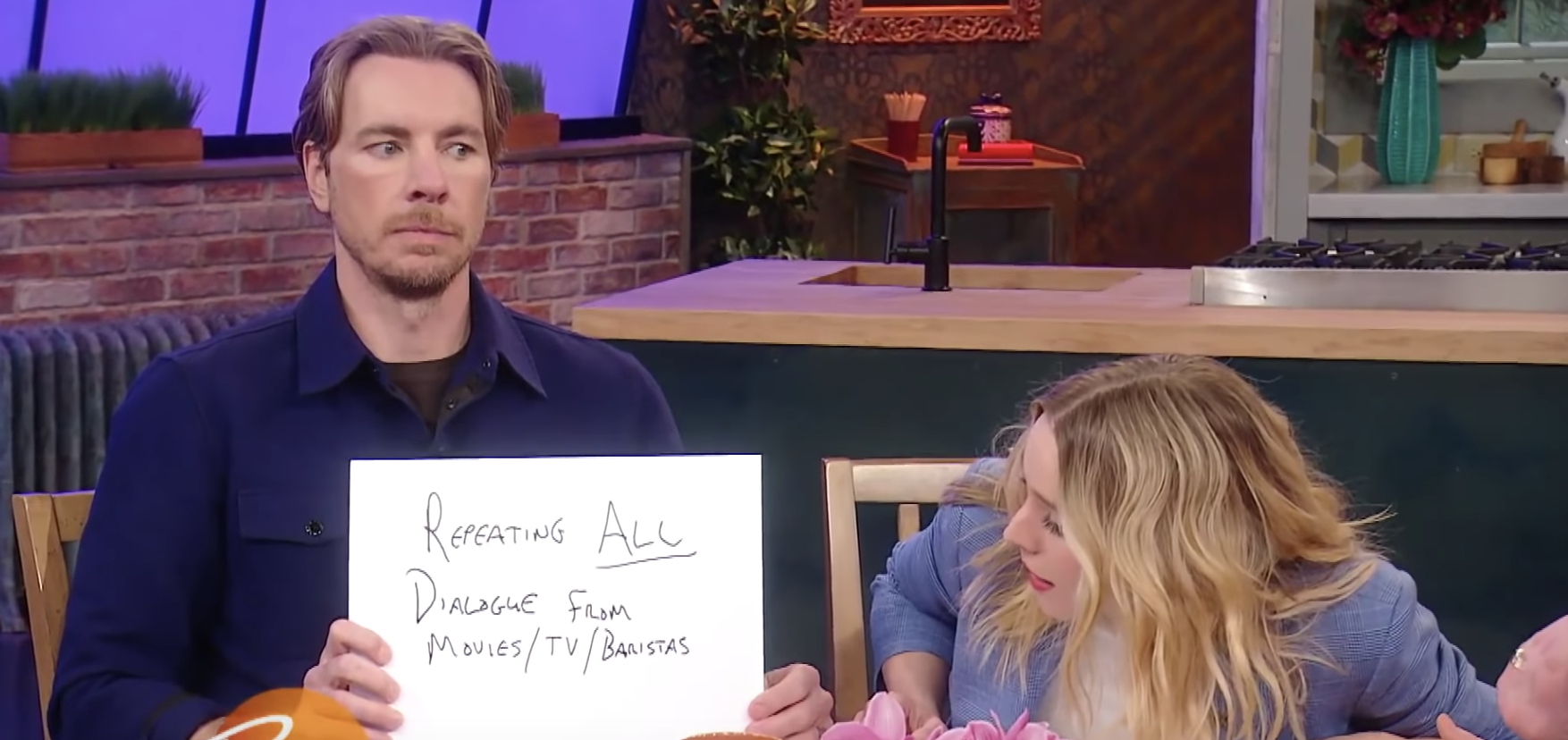 Dax Shepard Called Out Kristen Bell For Repeating Baristas' Accents, And It's Hilarious