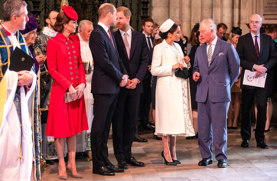 Harry and William at their last appearance together, on March 11, 2019.