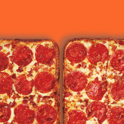 Little Caesars' Deep Dish Bacon-Wrapped Pizza Is Back—But Not For Long