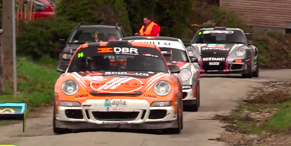 The Belgian Forest Was Filled With 911 GT3 Rally Cars Last Weekend