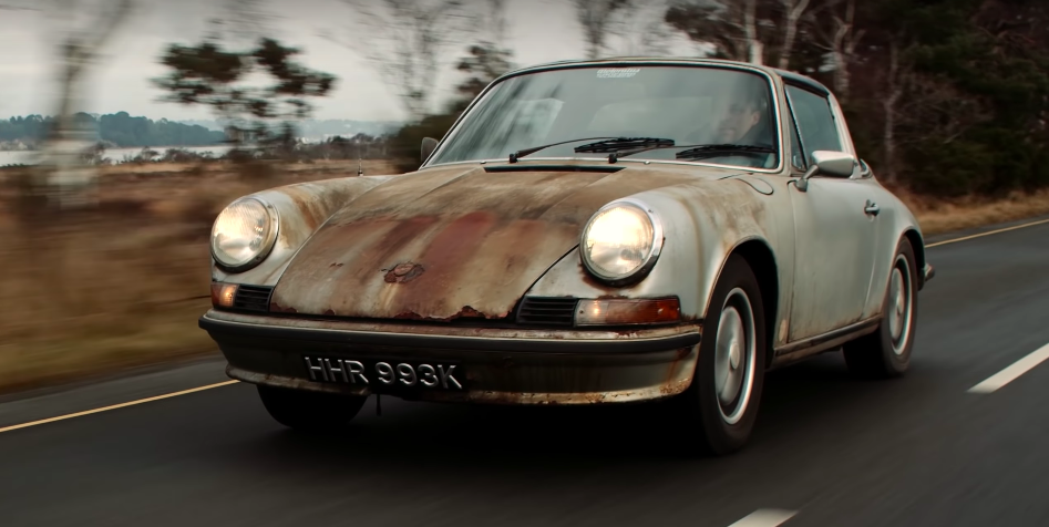 This Rescued 911 Targa Barn Find Proves Patina Should Always Be Preserved