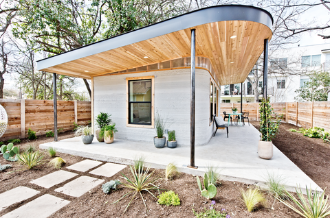 This Tiny House Was 3D-Printed in Less Than 48 Hours