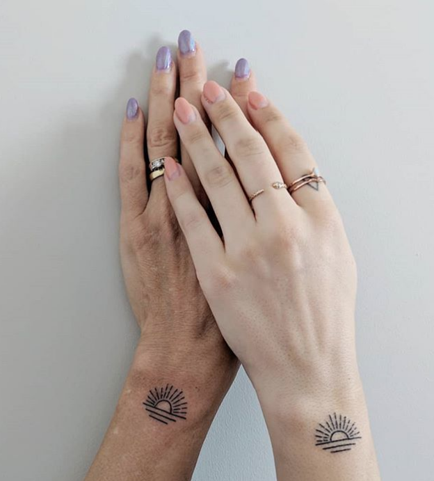 b20ff136e525d 15 Meaningful Mother-Daughter Tattoo Ideas - Best Mother and Daughter  Tattoos