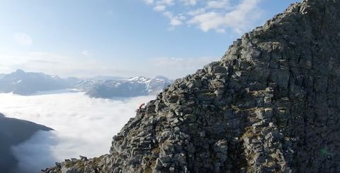 Watch: Kilian Jornet running ridges in the Norwegian mountains