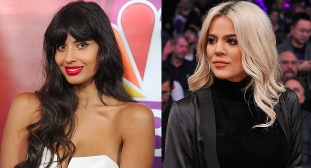 Oh Sh*t, Jameela Jamil Is Coming for Khloé Kardashian Over That Flat Tummy Post