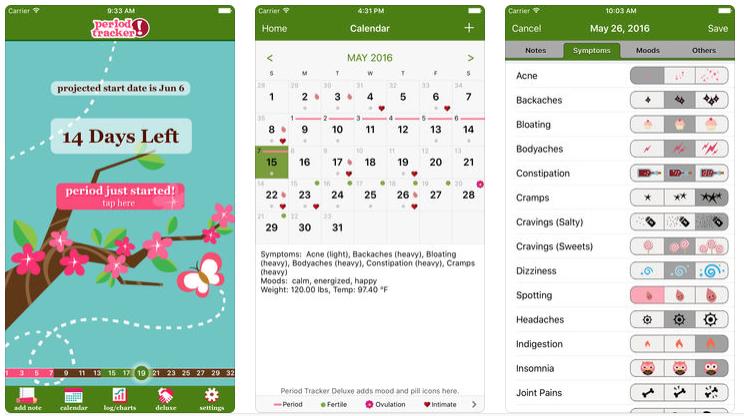 best period tracker apps - period tracker