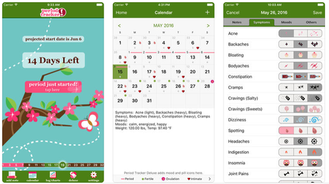 best period tracker apps - period tracker