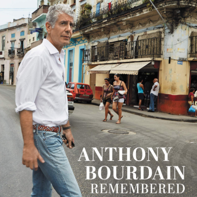 An Anthony Bourdain Memorial Book Is Coming In May And It's Currently Available For Preorder