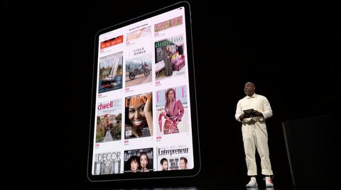 This White Jumpsuit Was the Most Important Part of the Apple Live Event