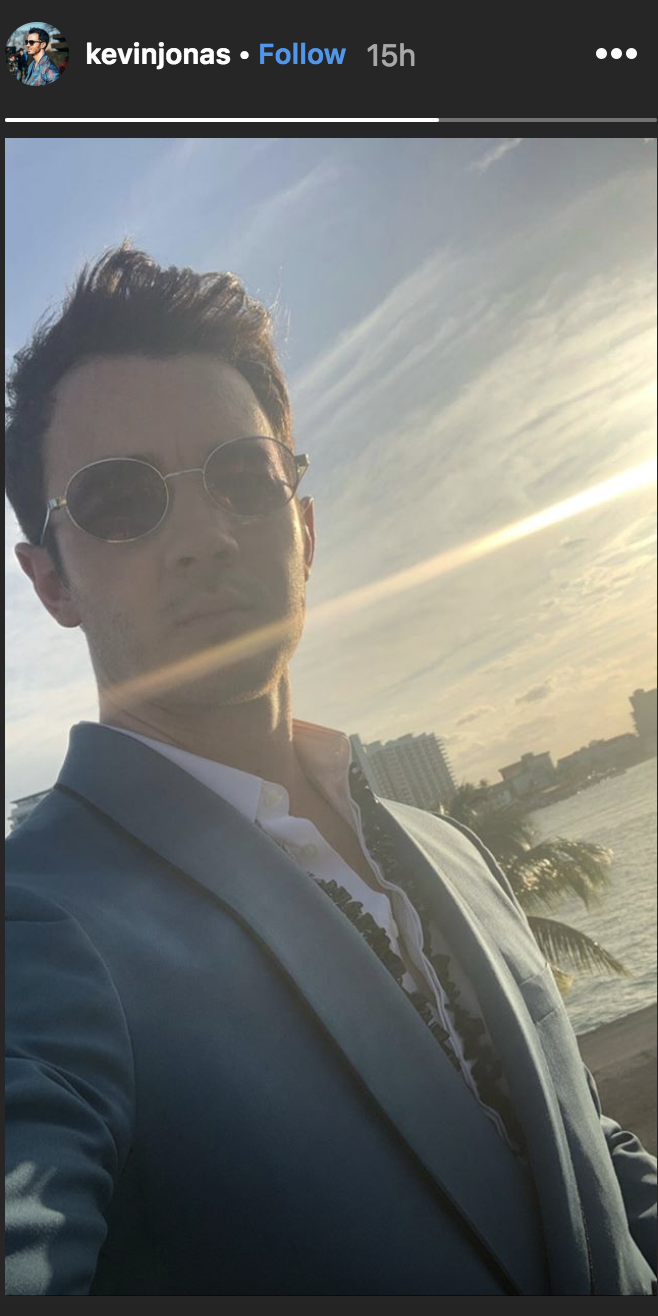 Priyanka Chopra, Nick Jonas, Sophie Turner, and Joe Jonas Hang Out in Miami