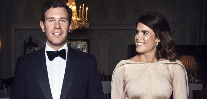 See a New Photo of Princess Eugenie in Her Zac Posen-Designed Wedding Reception Dress
