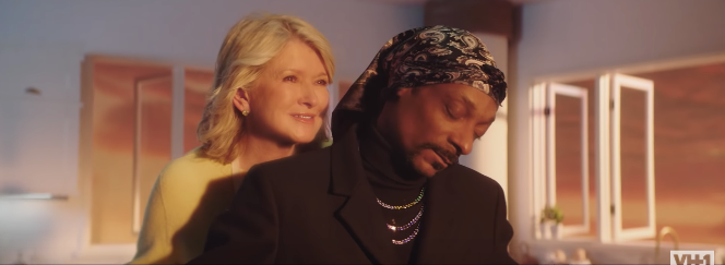Watch Martha Stewart and Snoop Dogg Recreate This Iconic Titanic Scene