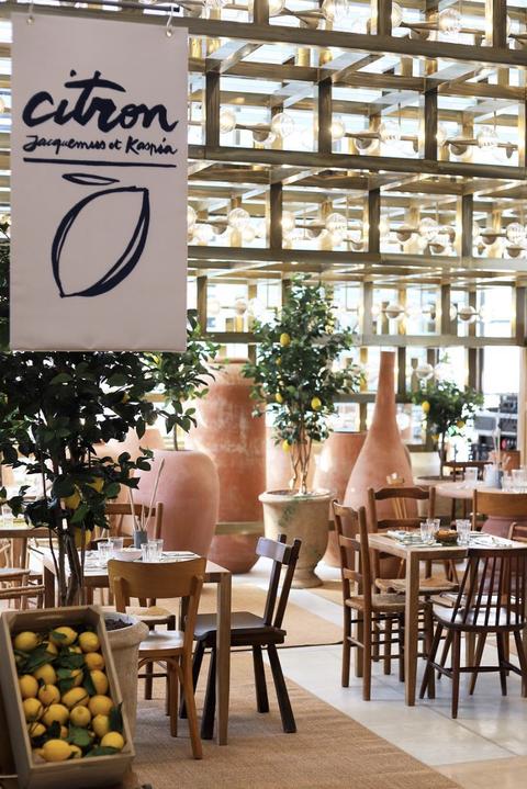 Interior design, Restaurant, Furniture, Table, Building, Room, Café, Tree, Brunch, Chair,