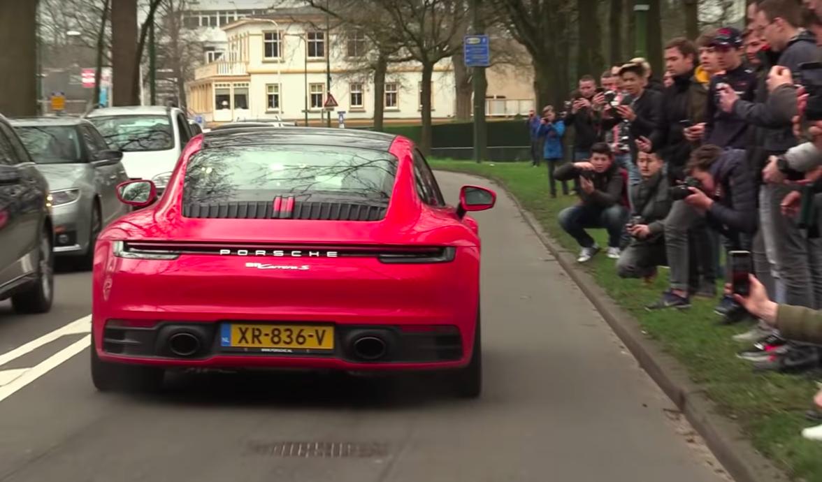 Listen to the Porsche 992's Raspy Turbo Flat-Six Exhaust Note