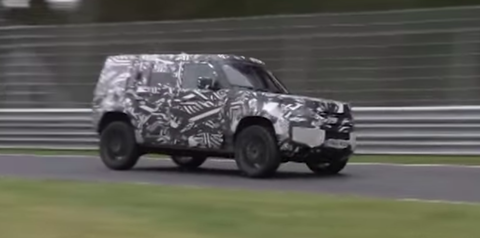 5356c9bb6f Check Out the New Land Rover Defender Going All-Out on the Nurburgring