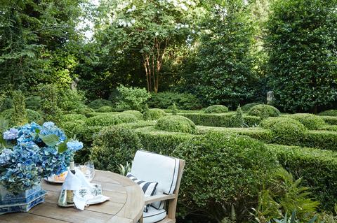 Garden, Shrub, Plant, Property, Botanical garden, Botany, Tree, Flower, Landscaping, Grass,