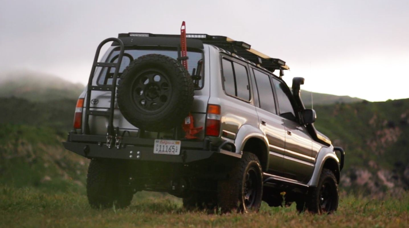 This Icon-Built Supercharged V-8 Land Cruiser Is '90s Off-Roading at its Finest