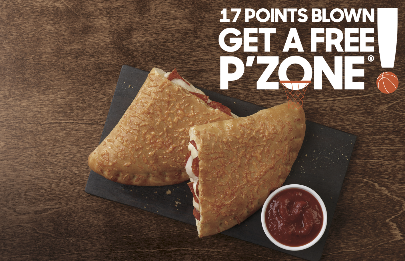 You Could Win A Free P'ZONE From Pizza Hut During The Final Four