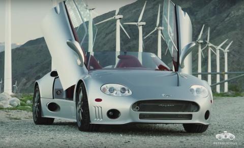 Land vehicle, Vehicle, Car, Sports car, Spyker c8, Automotive design, Supercar, Coupé, Performance car, Rim,