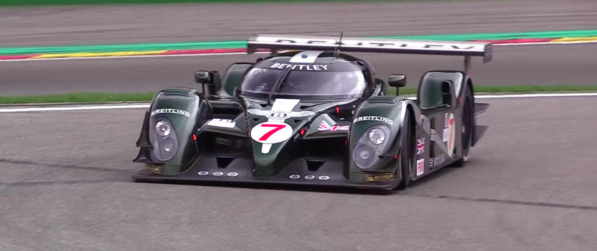 Test Days at Spa Francorchamps Bring Out Some Serious Machinery