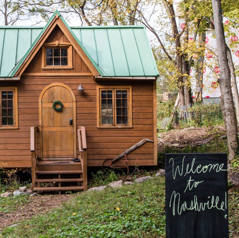 Airbnb Tiny House Nashville Tennessee cottage