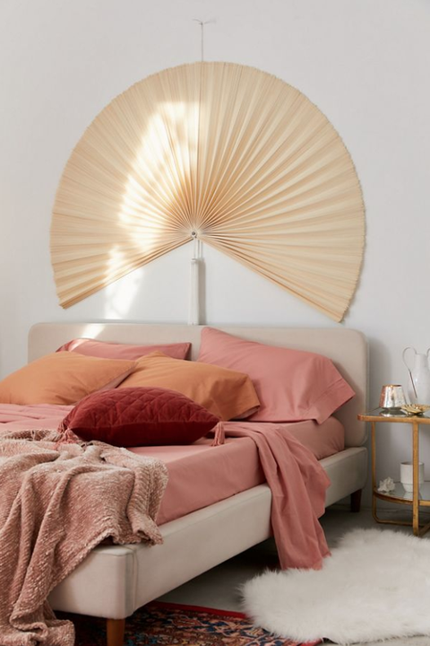 arching fan asian unique headboards modern bedroom design padstyle.com