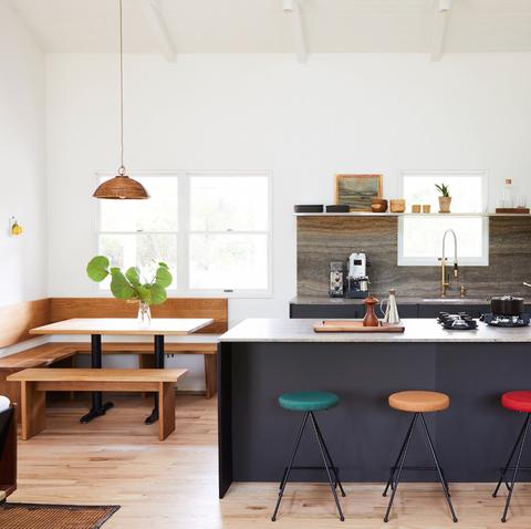 Shoppable Airbnb Montauk New York McKinley Bungalow