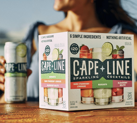 Millercoors Created Canned Sparkling Cocktails Called Cape Line