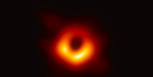 its the black hole