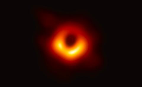its the black hole