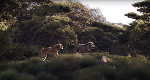 Watch The Lion King Remake Trailer Featuring Beyonc 233