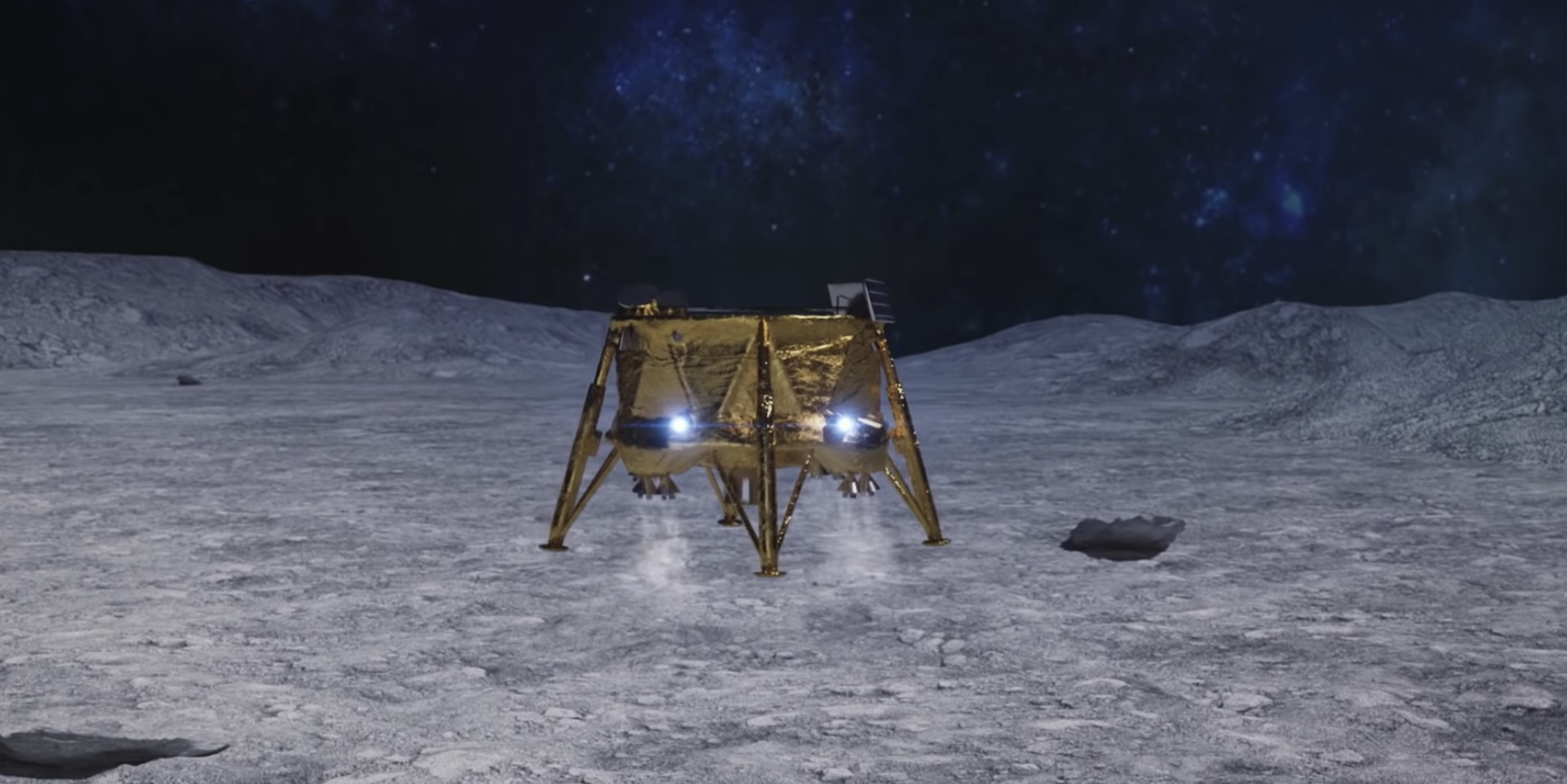 Watch SpaceIL Land a Spacecraft on the Moon Right Now