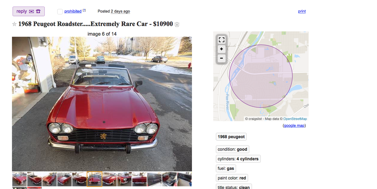 Craiglist To Charge A Fee To List Your Car Hemmings Online Car Sales Site Coming Soon