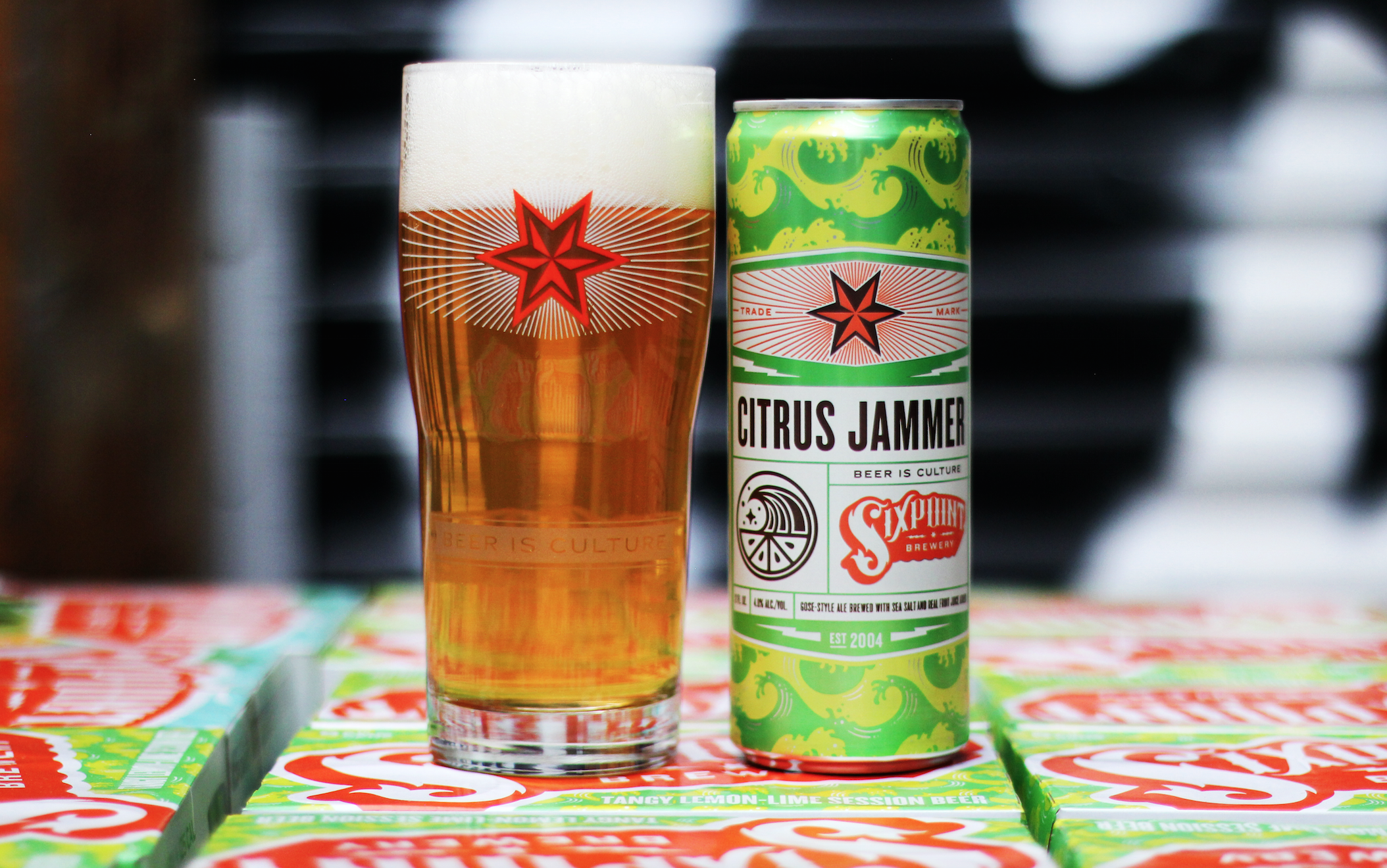 Sixpoint Brewery's Citrus Jammer Is Your New Yardwork Beer