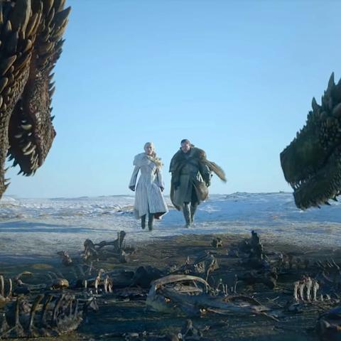 Jon Snow Rides A Dragon In Game Of Thrones Season 8 Episode 1 Explained