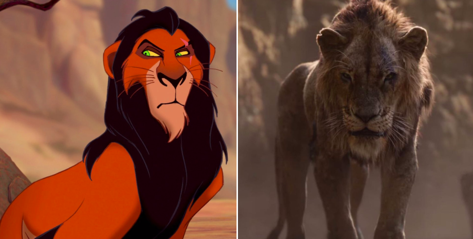 The Lion King Trailer Backlash Scar Lion King Tweets