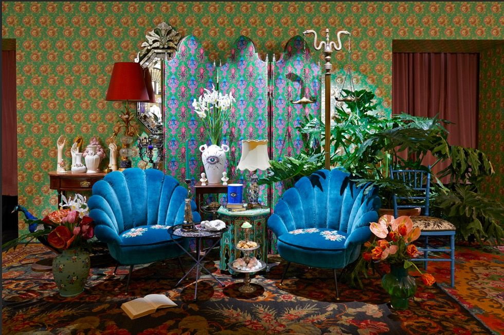Inside Gucci's beautiful new Décor store