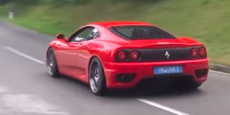 Land vehicle, Vehicle, Car, Supercar, Sports car, Ferrari 360, Luxury vehicle, Automotive design, Mode of transport, Performance car,