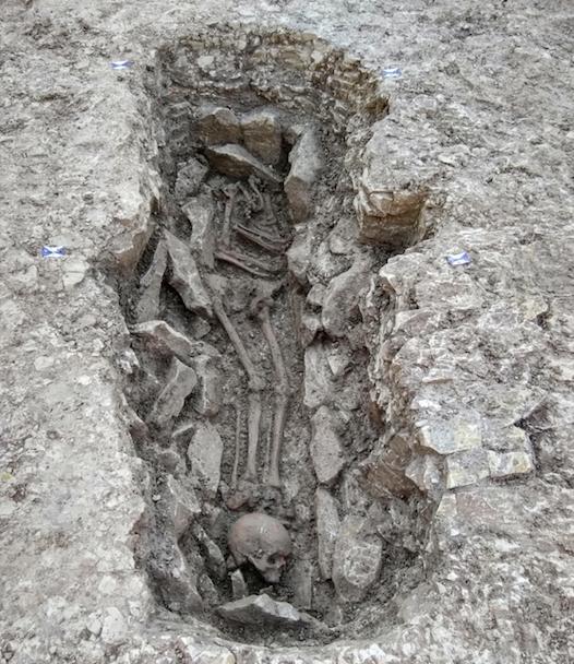 bones buried oxfordshire