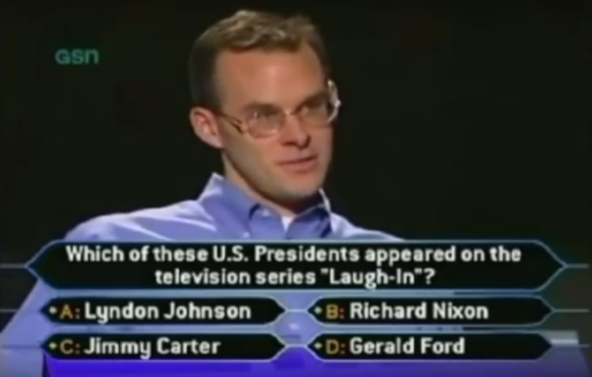 "John Carpenter - ""Who Wants to Be a Millionaire?"""