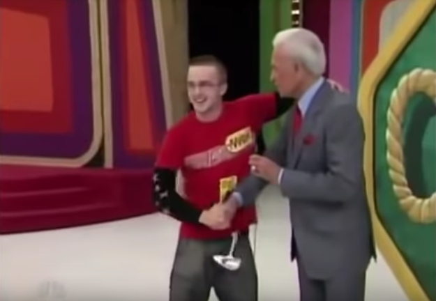 "Aaron Paul - ""The Price Is Right"""