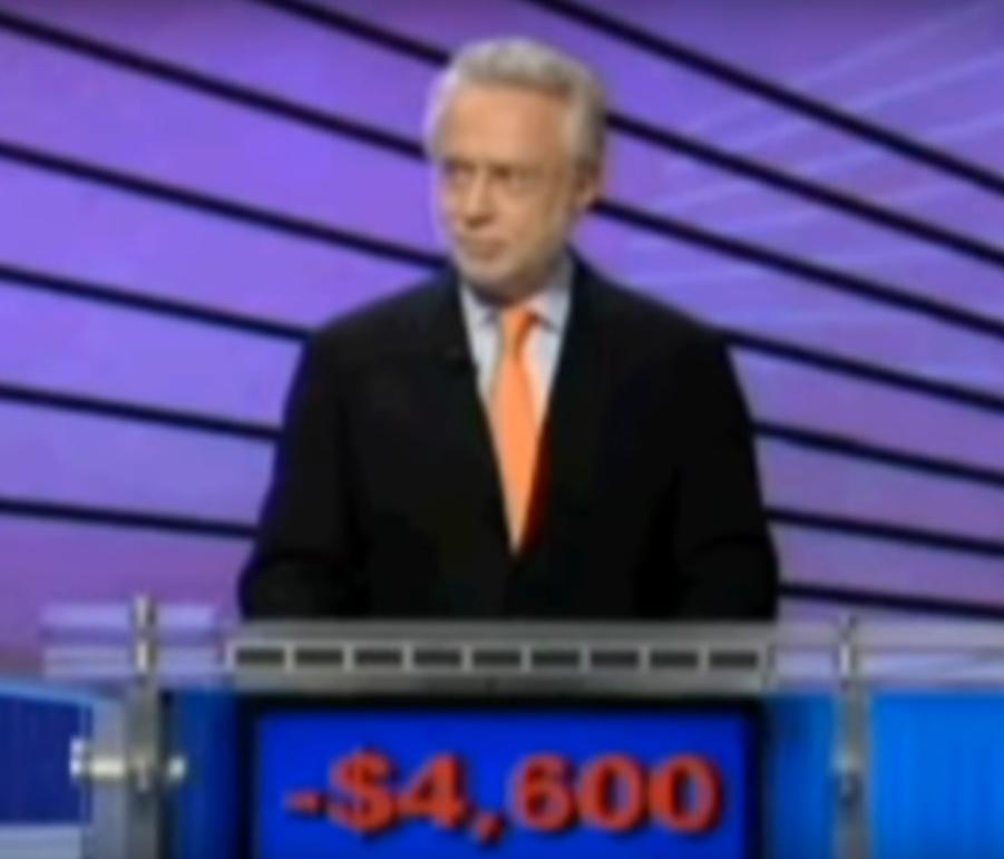 """Wolf Blitzer - """"Jeopardy!"""""""