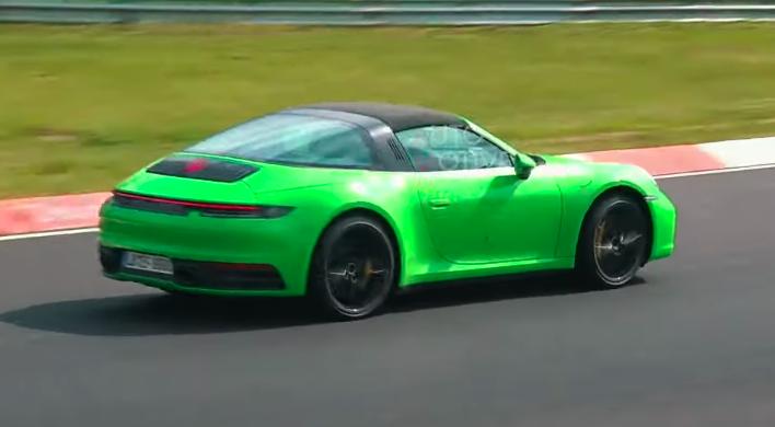 Watch the New Porsche 911 Targa Get Flung Around the Nurburgring