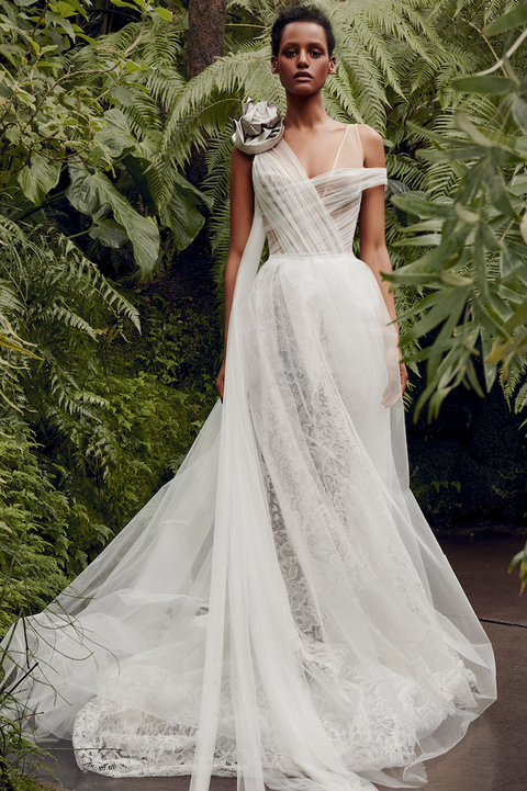 ac7b4e460ba1 These Spring 2020 Wedding Dresses Are Beyond Dreamy