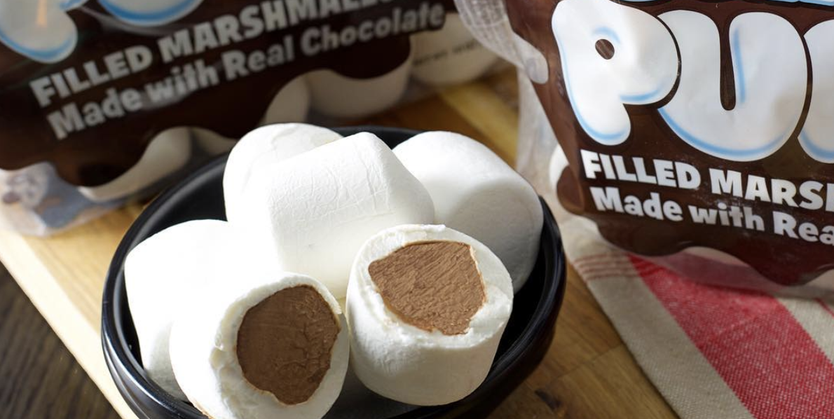 Stuffed Puffs Are Marshmallows With Chocolate On The Inside