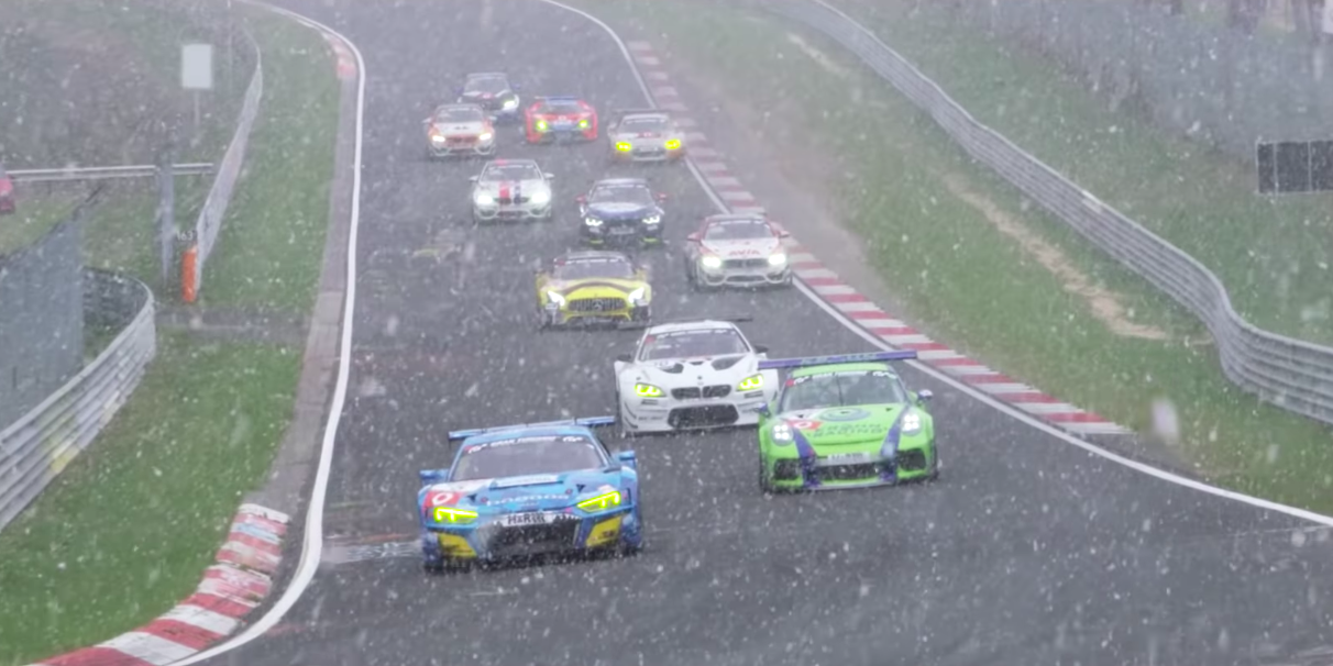 A Snowstorm Forced a Race at the Nurburgring to Be Canceled